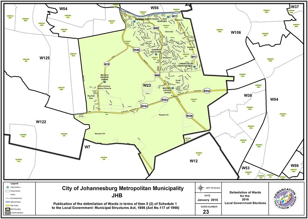 Ward 23 Joburg South