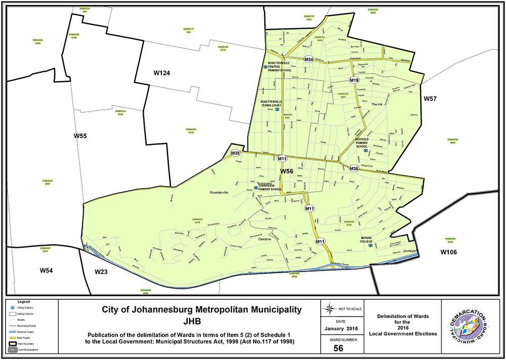Ward 56 Joburg South