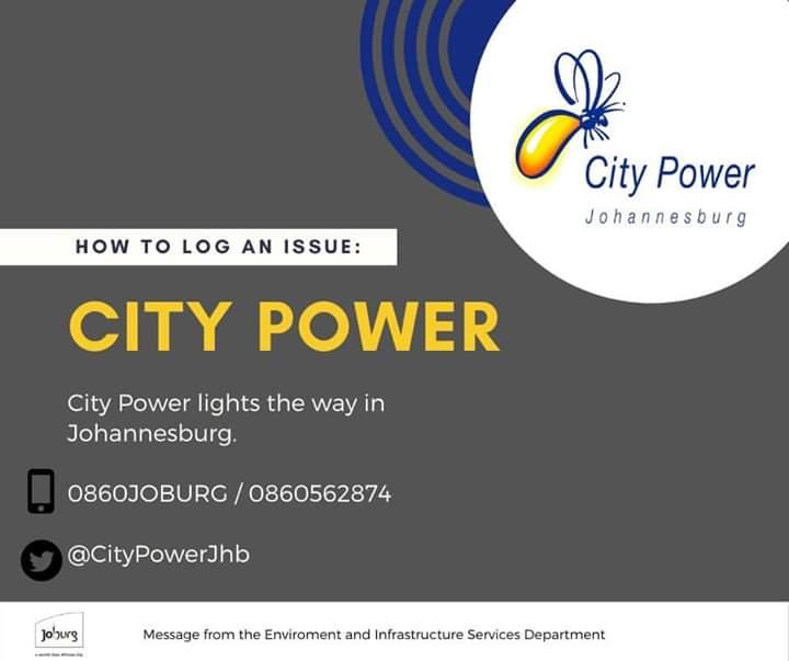 City Power - log a call